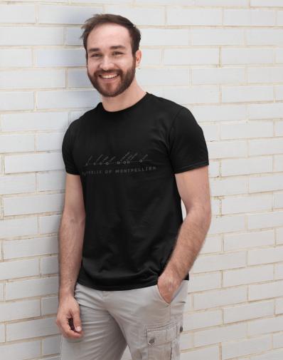 T-shirt Montpel'way of night