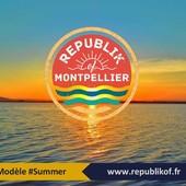 Collaboration 100% Montpellieraine! www.republikof.fr x Arthur Lansonneur A Montpellier même à Noël c'est Summer! #noel #Republikof #arthurlansonneur #montpellier #summer #tshirt #sweat #bio #ecoresponsable