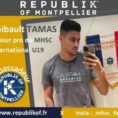 Thib_tam17  joueur pro du Montpellier Hérault Sport Club, international U19 porte haut et fort les couleurs de sa ville et de Republik Of. Merci à @_mhsc_fan_ pour la collaboration #thibaulttamas #Republikof #MHSC #montpellier #equipedefrance #tshirt #sweat #bio #ecoresponsable